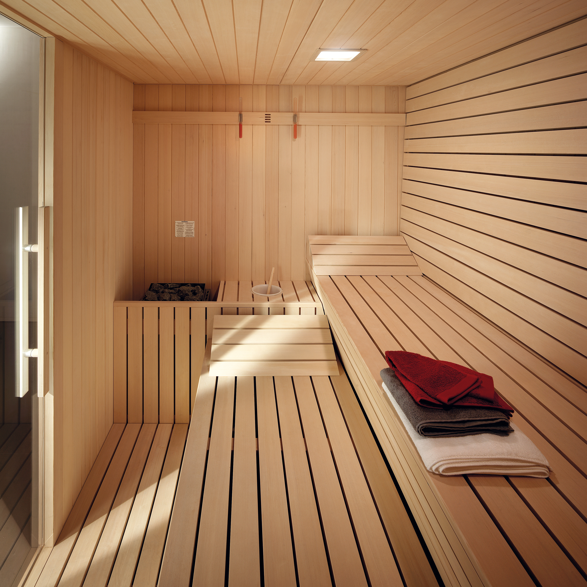 gyms with sauna. Black Bedroom Furniture Sets. Home Design Ideas